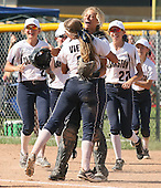 Clarkston vs Romeo, Varsity Softball, 6/6/15
