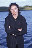 WANTAGH NY - AUGUST 09: James LaBrie of Dream Theater poses for a portrait at The Jones Beach Amphitheater on August 9, 1998 in Wantagh, New York. Photo by Larry Marano © 1998