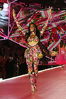NEW YORK, NY - NOVEMBER 08: Winnie Harlow at the 2018 Victoria's Secret Fashion Show at Pier 94 on November 8, 2018 in New York City. Credit: John Palmer/MediaPunch