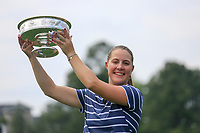 Jennifer Kupcho (USA) after the final  round at the Augusta National Womans Amateur 2019, Augusta National, Augusta, Georgia, USA. 06/04/2019.<br /> Picture Fran Caffrey / Golffile.ie<br /> <br /> All photo usage must carry mandatory copyright credit (&copy; Golffile | Fran Caffrey)