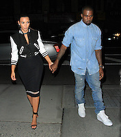 Kim Kardashian and Kanye West, romantic night in New York City