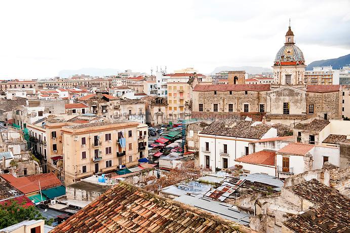 Palermo skyline, Sicily, Italy