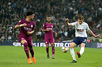Jan Vertonghen of Tottenham Hotspur and Kyle Walker of Manchester City during Tottenham Hotspur vs Manchester City, Premier League Football at Wembley Stadium on 14th April 2018