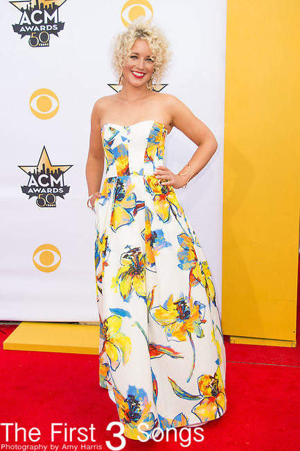Cam attends the 50th Academy Of Country Music Awards at AT&T Stadium on April 19, 2015 in Arlington, Texas.