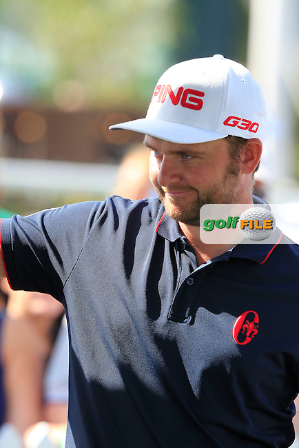 \{prsn}\ during Sunday's Final Round of the 2015 Omega Dubai Desert Classic held at the Emirates Golf Club, Dubai, UAE.: Picture Eoin Clarke, www.golffile.ie: 2/1/2015