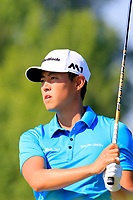 Daniel Im (USA) in action during the final round of the Lyoness Open powered by Organic+ played at Diamond Country Club, Atzenbrugg, Austria. 8-11 June 2017.<br /> 11/06/2017.<br /> Picture: Golffile | Phil Inglis<br /> <br /> <br /> All photo usage must carry mandatory copyright credit (&copy; Golffile | Phil Inglis)