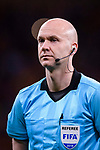 Fifa Referee Anthony Taylor of England during the International Friendly 2018 match between Spain and Argentina at Wanda Metropolitano Stadium on 27 March 2018 in Madrid, Spain. Photo by Diego Souto / Power Sport Images
