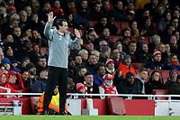 Arsenal Head Coach, Unai Emery during Arsenal vs Eintracht Frankfurt, UEFA Europa League Football at the Emirates Stadium on 28th November 2019