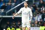 Real Madrid's forward Cristiano Ronaldo during the match of La Liga between Real Madrid and   Real Sociedad at Santiago Bernabeu Stadium in Madrid, Spain. January 29th 2017. (ALTERPHOTOS/Rodrigo Jimenez)