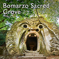 Pictures of Bomarzo Sacred Grove - Monster Park - Sculptures - Italy