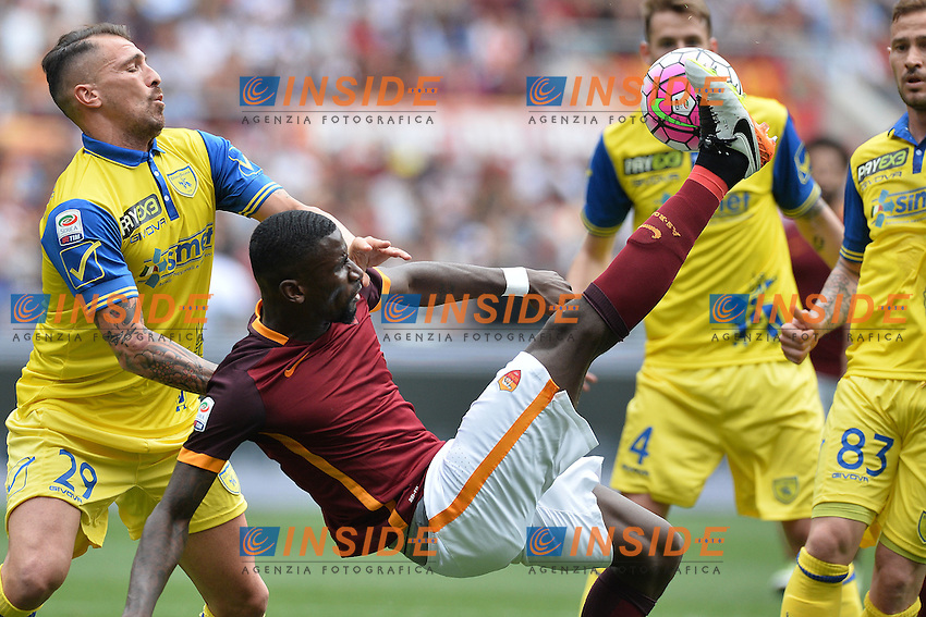 Antonio Rudiger Roma<br /> Roma 8-05-2016  Stadio Olimpico<br /> Campionato Serie A,<br /> AS Roma - Chievo<br /> Foto Antonietta Baldassarre / Insidefoto