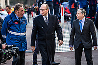 26th January 2020, Monaco, Monte Carlo;  ALBERT, Prince of Monaco, TODT Jean, FIA president during the 2020 WRC World Rally Car Championship finish, Monte Carlo rally on January  26th 2020.