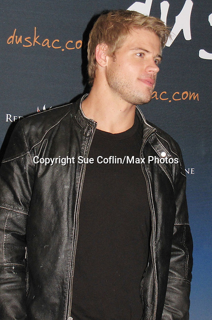 "Trevor Donovan (Days' ""Jeremy Horton"" and 90210's ""Teddy Montgomery"") hosts the Party at Dusk Nightclub at Caesar's Atlantic City, New Jersey on March 13, 2010. (Photo by Sue Coflin/Max Photos)"