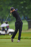 Pernilla Lindberg (SWE) watches her tee shot on 12 during round 4 of the KPMG Women's PGA Championship, Hazeltine National, Chaska, Minnesota, USA. 6/23/2019.<br /> Picture: Golffile | Ken Murray<br /> <br /> <br /> All photo usage must carry mandatory copyright credit (© Golffile | Ken Murray)