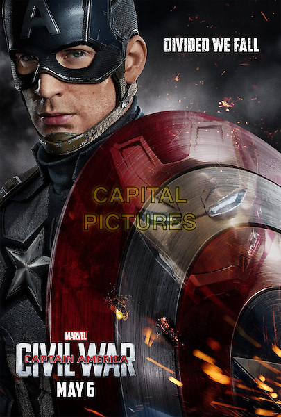 Captain America: Civil War (2016) <br /> POSTER ART<br /> *Filmstill - Editorial Use Only*<br /> CAP/KFS<br /> Image supplied by Capital Pictures