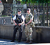 Armed Police and Army outside Parliament <br /> 26th May 2017 Westminster, London. Great Britain <br /> <br /> <br /> <br /> <br /> Photograph by Elliott Franks <br /> Image licensed to Elliott Franks Photography Services