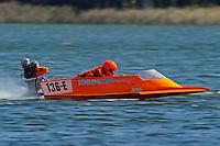 136-E (hydro)....Stock  Outboard Winter Nationals, Ocoee, Florida, USA.13/14 March, 2010 © F.Peirce Williams 2010