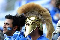 FUSSBALL  EUROPAMEISTERSCHAFT 2012   VORRUNDE Griechenland - Tschechien         12.06.2012 Griechische Fans