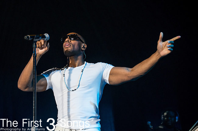 Tank with TGT performs at the 2013 Essence Festival at the Mercedes-Benz Superdome in New Orleans, Louisiana.