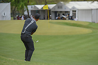 Xander Schauffele (USA) chips on to 6 during day 3 of the World Golf Championships, Dell Match Play, Austin Country Club, Austin, Texas. 3/23/2018.<br /> Picture: Golffile | Ken Murray<br /> <br /> <br /> All photo usage must carry mandatory copyright credit (&copy; Golffile | Ken Murray)