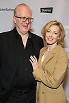 "Tracy Letts and Carrie Coon attends the Broadway Opening Night After Party for ""All My Sons"" at The American Airlines Theatre on April 22, 2019  in New York City."