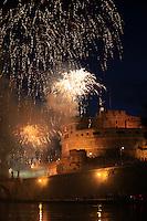 20130629 ROMA-CRONACA: GIRANDOLA DI CASTEL SANT'ANGELO