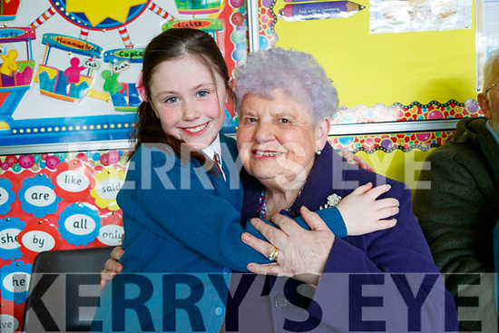 Annabel Slattery and Mary Slattery, Tralee,  pictured at Grandparents day at Scoil Eoin, Balloonagh, Tralee on Tuesday last.