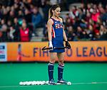 ROTTERDAM - Amanda Magadan (USA)   tijdens de Pro League hockeywedstrijd dames, Nederland-USA  (7-1) .   COPYRIGHT  KOEN SUYK