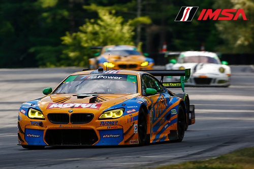22-23 July, 2016, Lakeville, Connecticut USA<br /> 97, BMW, M6 GT3, GTD, Michael Marsal, Markus Palttala<br /> &copy;2016, Jake Galstad<br /> LAT Photo USA