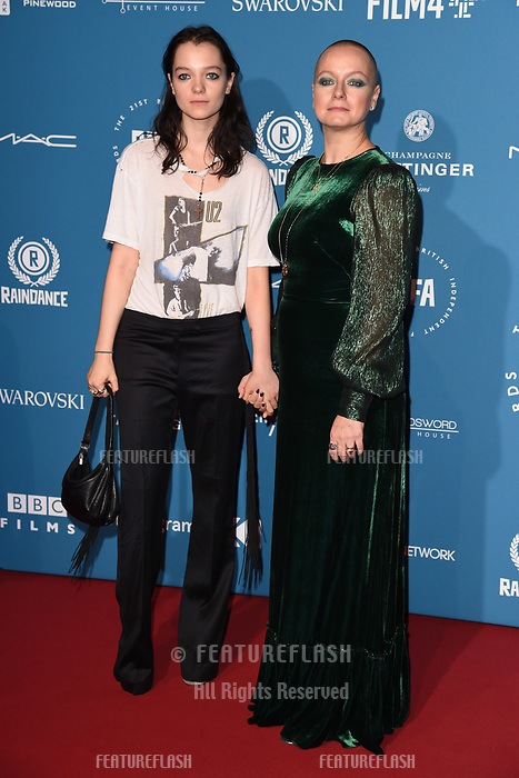 LONDON, UK. December 02, 2018: Samantha Morton & daughter, Esme Creed-Miles at the British Independent Film Awards 2018 at Old Billingsgate, London.<br /> Picture: Steve Vas/Featureflash