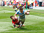 Mateo Carreras, Day 1 at Cape Town 7s for HSBC World Rugby Sevens Series 2018, Cape Town, South Africa - Photos Martin Seras Lima