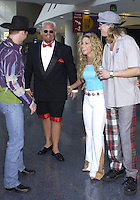 Cledus T Judd with Trick Pony backstage at the first ever CMT Flameworthy Video Music Awards at the Gaylord Entertainment Center in Nashville Tennesee. 6/12/02<br /> Photo by Rick Diamond/PictureGroup