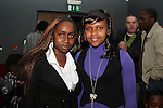 Stacey Mugo and Christine Njeri at the Reception for the Kenyan Ambassador to Ireland in the Droichead Arts Centre...(Photo credit should read Jenny Matthews www.newsfile.ie)....This Picture has been sent you under the condtions enclosed by:.Newsfile Ltd..The Studio,.Millmount Abbey,.Drogheda,.Co Meath..Ireland..Tel: +353(0)41-9871240.Fax: +353(0)41-9871260.GSM: +353(0)86-2500958.email: pictures@newsfile.ie.www.newsfile.ie.