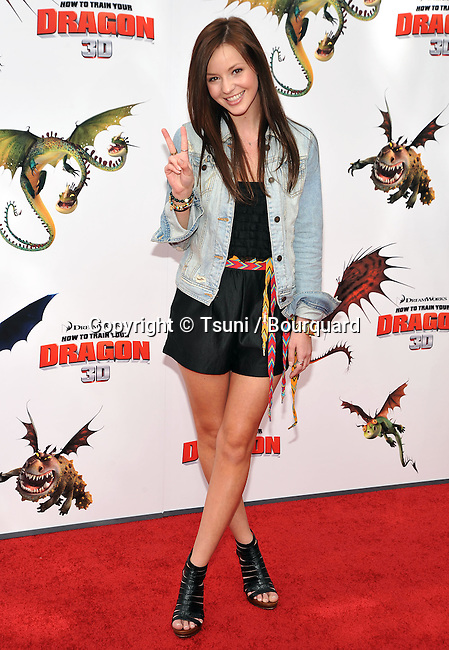 Samantha Droke _22 - <br /> How To Train Your Dragon premiere at the Universal Amphitheatre In Los Angeles.