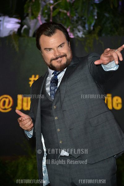 "Jack Black at the Los Angeles premiere of ""Jumanji: Welcome To the Jungle"" at the TCL Chinese Theatre, Hollywood, USA 11 Dec. 2017<br /> Picture: Paul Smith/Featureflash/SilverHub 0208 004 5359 sales@silverhubmedia.com"