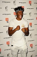 LONDON, ENGLAND - AUGUST 8: KSI (Olajide William &quot;JJ&quot; Olatunji) attending 'KSI: Can't Lose' World Premiere at Picturehouse Central on August 8, 2018 in London, England.<br /> CAP/MAR<br /> &copy;MAR/Capital Pictures