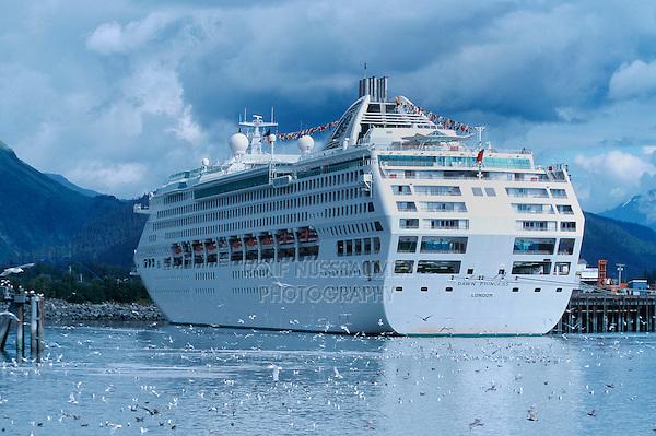 Cruise ship, Alaska, USA