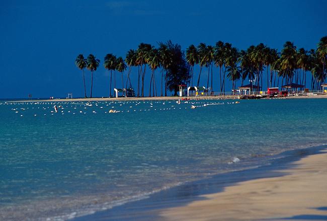 Luquillo Beach, Puerto Rico, West Indies