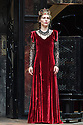 """London, UK. 22.06.2016.  Shakespeare's Globe presents """"Macbeth"""", by William Shakespeare, directed by Iqbal Khan.  Picture shows: Tara Fitzgerald (Lady Macbeth).  Photograph © Jane Hobson."""