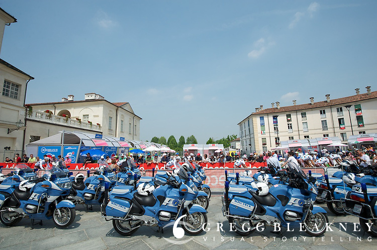 The police brigade--stage 1 team time Trial.
