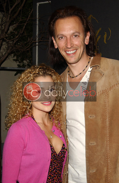 Steve Valentine and friend<br />