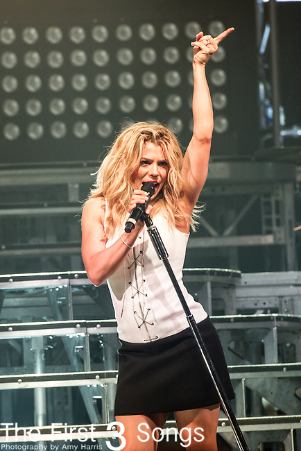 Kimberly Perry of The Band Perry performs on Day One of the 2014 CMA Music Festival in Nashville, Tennessee.