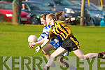 Castleisland's Ca?it Lynch and Abbeydorney's Rosie Young.   Copyright Kerry's Eye 2008