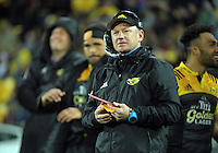 Hurricanes team manager Tony Ward during the Super Rugby semifinal match between the Hurricanes and Chiefs at Westpac Stadium, Wellington, New Zealand on Saturday, 30 July 2016. Photo: Dave Lintott / lintottphoto.co.nz