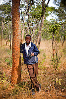 "13 year old Chiwila Mulenga from Chalilo school in Sereje district, on his first safari in Kasanka National Park. ""They [the animals] are very free and I didn't expect them to be as free. I thought they would be un-free.""  Local schools and women's groups are regularly brought into Kasanka, which is unique in the country and unusual in Africa as it is privately managed and owned by a trust. People are able to see animals flourishing in land which was once free reign for poachers. Combined with anti-poaching scouts, the education programme is on the frontline of conservation methods in the park, showing local people wild animals in their natural habitat."