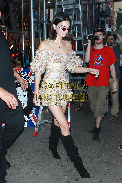 NEW YORK, NY - AUGUST 1: Kendall Jenner goes shopping at vintage punk-rock apparel &amp; accessories &quot;Search &amp; Destroy&quot; store on August 1, 2017 in New York City, USA.<br /> CAP/MPI/DC<br /> &copy;DC/MPI/Capital Pictures