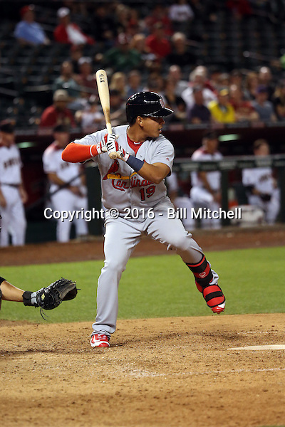 Ruben Tejada - 2016 St. Louis Cardinals (Bill Mitchell)