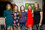 Enjoying the Tralee Rowing Club social at Benners Hotel on Friday were Katie Nagel, Jenny Fox, Elaina Gannon, Amy O'Mahony, Shauna Flynn