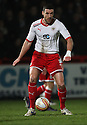 Jon Ashton of Stevenage. - Stevenage v Milton Keynes Dons - npower League 1 - Lamex Stadium, Stevenage - 24th January 2012. © Kevin Coleman 2012
