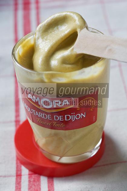 Europe/France/Bourgogne/21/ Côte-d'Or/Dijon: Moutarde de Dijon //  France, Cote d'Or, Dijon, Dijon mustard